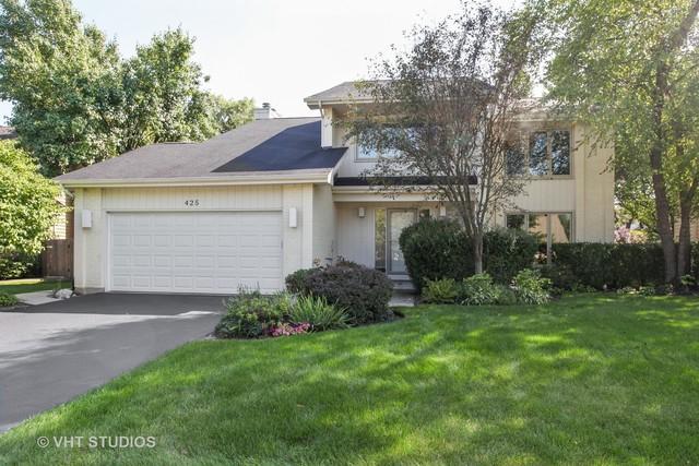 425 Newtown Drive, Buffalo Grove, IL 60089 (MLS #10089185) :: Helen Oliveri Real Estate