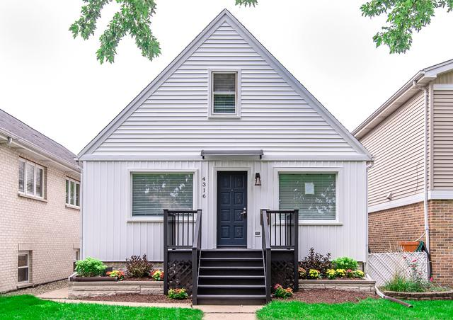 4316 N New England Avenue, Harwood Heights, IL 60706 (MLS #10089559) :: Lewke Partners
