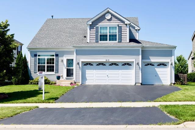 213 Fieldstone Drive, Woodstock, IL 60098 (MLS #10089871) :: Lewke Partners