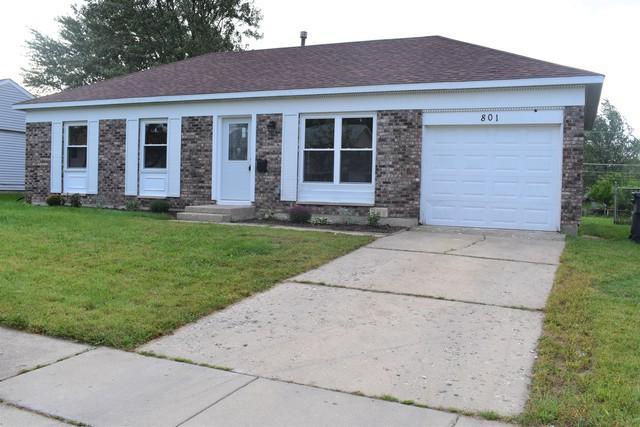 801 Lacy Avenue, Streamwood, IL 60107 (MLS #10090112) :: The Dena Furlow Team - Keller Williams Realty