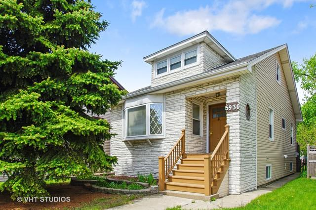 5930 N Nagle Avenue, Chicago, IL 60646 (MLS #10091533) :: Lewke Partners