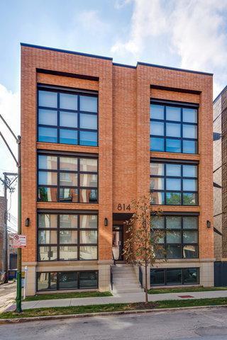 814 N Marshfield Avenue 3S, Chicago, IL 60622 (MLS #10092784) :: Lewke Partners