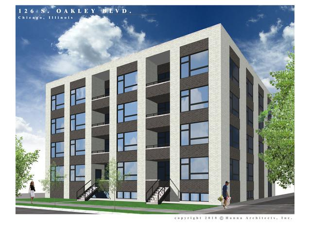 126 S Oakley Boulevard 2S, Chicago, IL 60612 (MLS #10093963) :: Property Consultants Realty