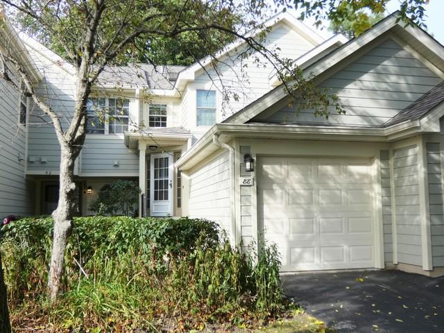 88 W Hamilton Drive #58, Palatine, IL 60067 (MLS #10096767) :: Leigh Marcus | @properties