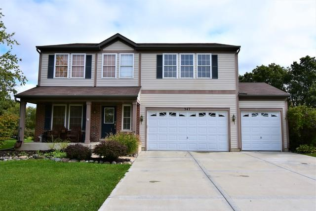 347 Pondview Drive, Antioch, IL 60002 (MLS #10105672) :: The Dena Furlow Team - Keller Williams Realty
