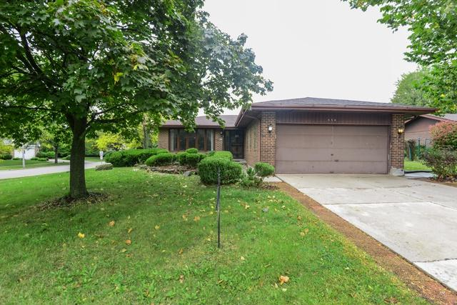 656 Willow Road, Matteson, IL 60443 (MLS #10106110) :: The Mattz Mega Group