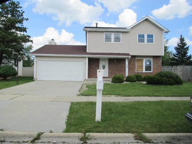 56 White Oaks Road, Matteson, IL 60443 (MLS #10107330) :: The Mattz Mega Group