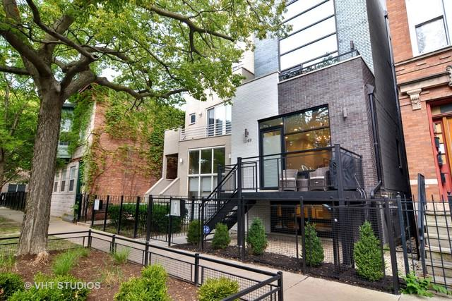 1349 N Leavitt Street 1A, Chicago, IL 60622 (MLS #10110155) :: Leigh Marcus | @properties