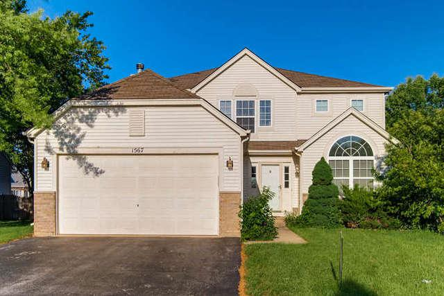 1567 Lavender Drive, Romeoville, IL 60446 (MLS #10110946) :: The Wexler Group at Keller Williams Preferred Realty