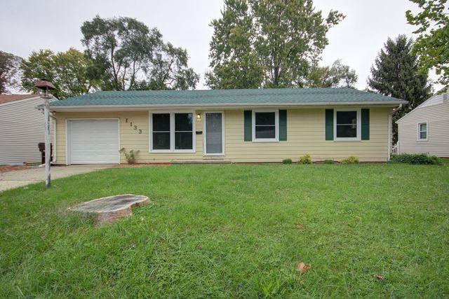 1133 Englewood Drive, Rantoul, IL 61866 (MLS #10113356) :: Ryan Dallas Real Estate