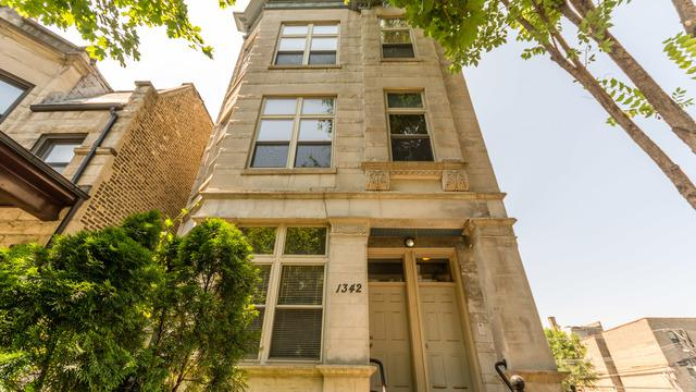 1342 N Claremont Avenue 3F, Chicago, IL 60622 (MLS #10113707) :: The Perotti Group | Compass Real Estate