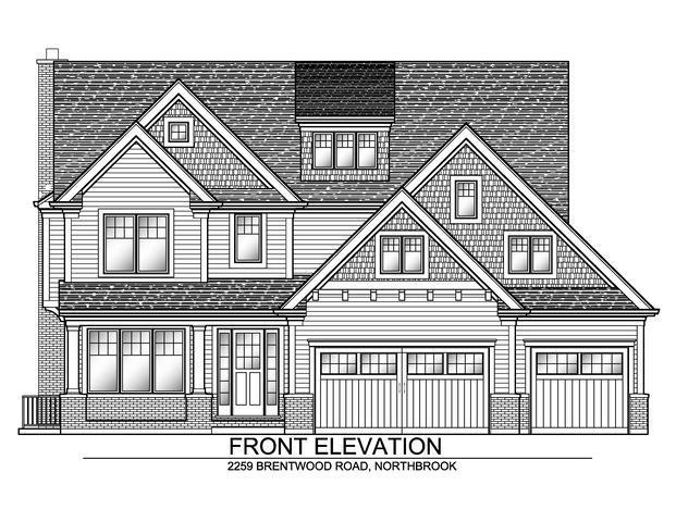 2259 Brentwood Road, Northbrook, IL 60062 (MLS #10113744) :: The Dena Furlow Team - Keller Williams Realty