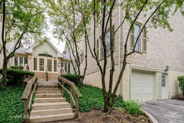 528 Pershing Avenue H, Glen Ellyn, IL 60137 (MLS #10114726) :: The Wexler Group at Keller Williams Preferred Realty