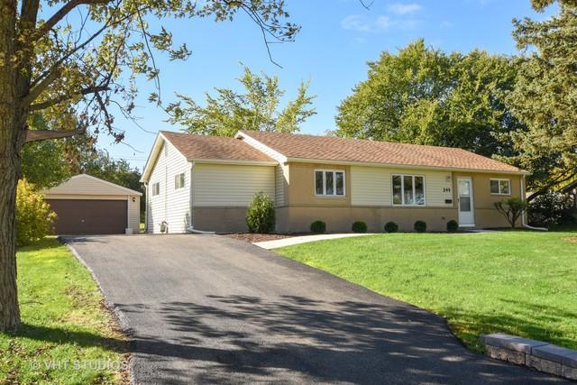 245 Hawthorn Lane, Hoffman Estates, IL 60169 (MLS #10115273) :: The Dena Furlow Team - Keller Williams Realty