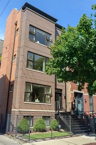 1944 W Thomas Street #3, Chicago, IL 60622 (MLS #10116313) :: The Perotti Group | Compass Real Estate