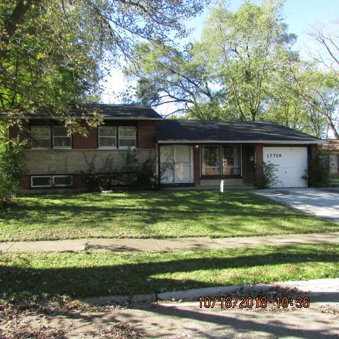 17706 Dogwood Lane, Hazel Crest, IL 60429 (MLS #10117343) :: The Dena Furlow Team - Keller Williams Realty