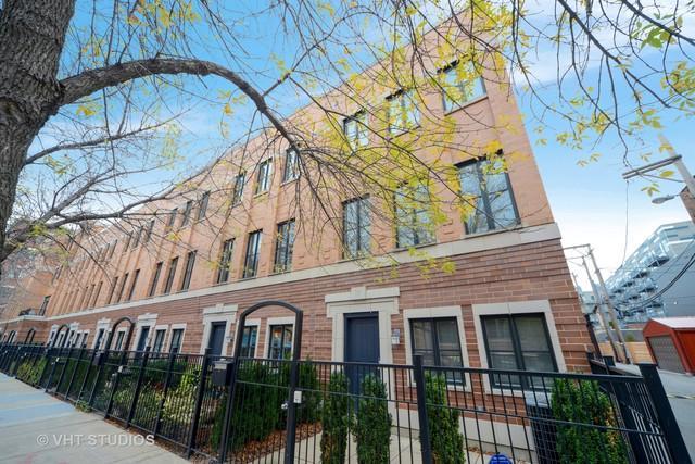 115 S Racine Avenue, Chicago, IL 60607 (MLS #10119233) :: The Perotti Group | Compass Real Estate