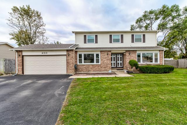 403 Jefferson Court, Wheeling, IL 60090 (MLS #10128121) :: Ani Real Estate