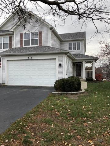478 Peregrine Parkway D, Bartlett, IL 60103 (MLS #10130898) :: Ani Real Estate