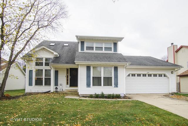 1095 S Warwick Circle, Hoffman Estates, IL 60169 (MLS #10132923) :: Domain Realty