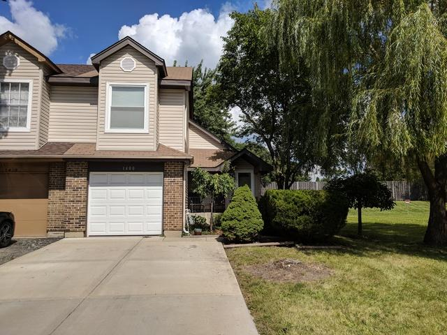 1400 N Merrimac Lane #1400, Hanover Park, IL 60133 (MLS #10135669) :: Ani Real Estate