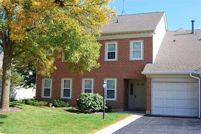 1412 Shore Court D-2, Wheeling, IL 60090 (MLS #10137048) :: Helen Oliveri Real Estate