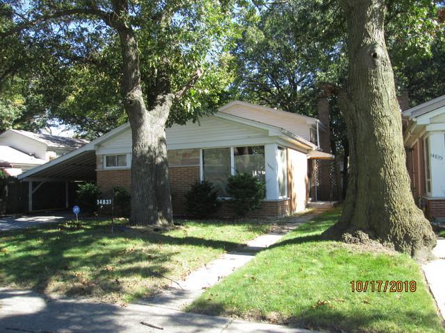 14831 Dobson Avenue, Dolton, IL 60419 (MLS #10137103) :: Ani Real Estate