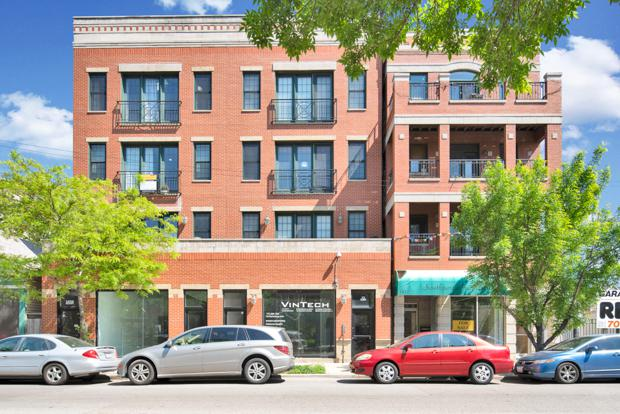 1836 W Belmont Avenue #3, Chicago, IL 60657 (MLS #10138000) :: Domain Realty