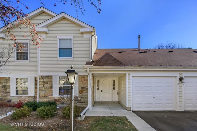 1587 Stonehill Court A, Wheaton, IL 60189 (MLS #10138136) :: Ani Real Estate