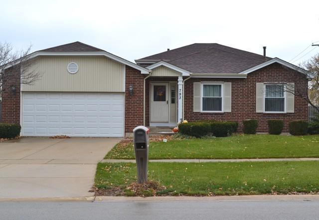 793 Honeytree Drive, Romeoville, IL 60446 (MLS #10138579) :: Ani Real Estate