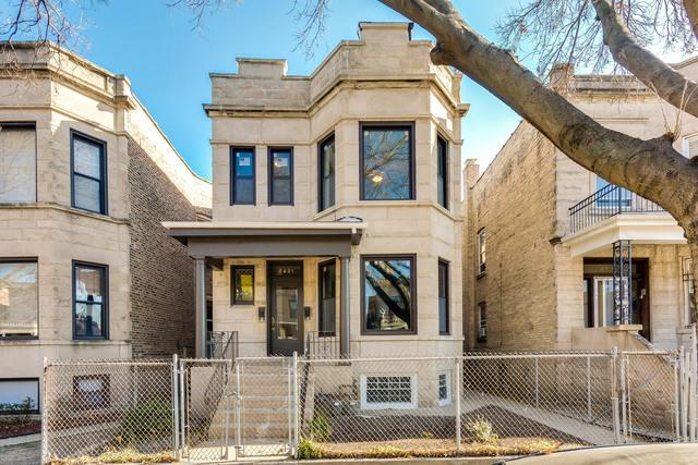 2421 N Kimball Avenue, Chicago, IL 60647 (MLS #10138714) :: John Lyons Real Estate