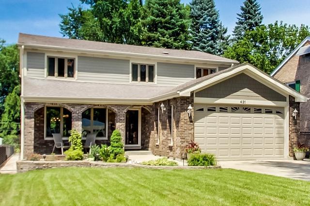 431 W Alexander Boulevard, Elmhurst, IL 60126 (MLS #10138759) :: Ani Real Estate