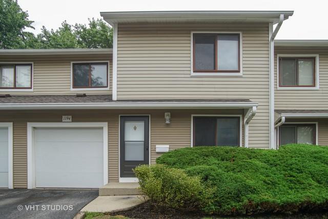 1194 E Cunningham Drive #1194, Palatine, IL 60074 (MLS #10139284) :: T2K Properties