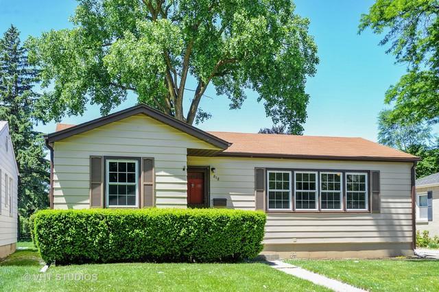 818 N Princeton Avenue, Arlington Heights, IL 60004 (MLS #10140153) :: Domain Realty