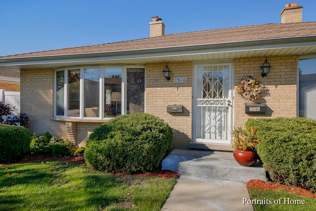 1516 Balmoral Avenue, Westchester, IL 60154 (MLS #10140364) :: Domain Realty