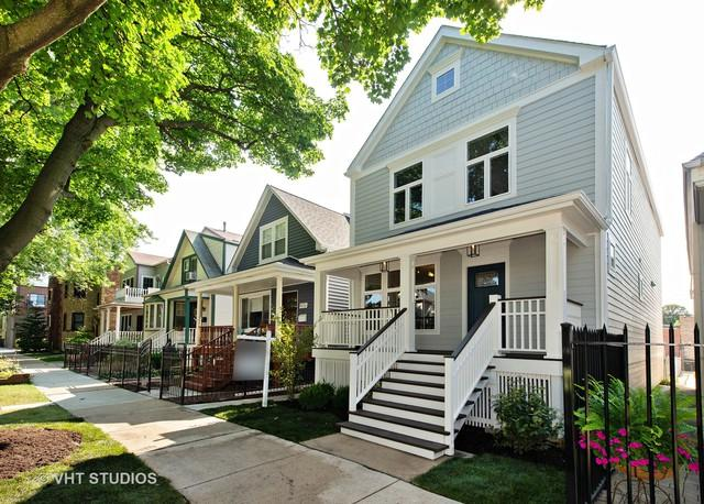 4028 N Maplewood Avenue, Chicago, IL 60618 (MLS #10143860) :: Leigh Marcus | @properties