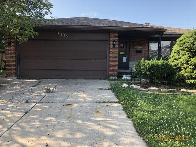 3315 191st Street, Lansing, IL 60438 (MLS #10146592) :: The Spaniak Team