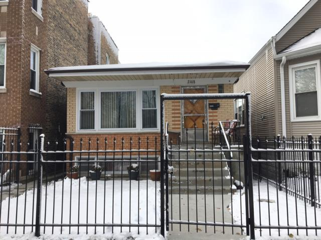 2108 N Kilbourn Avenue, Chicago, IL 60639 (MLS #10146948) :: Leigh Marcus | @properties