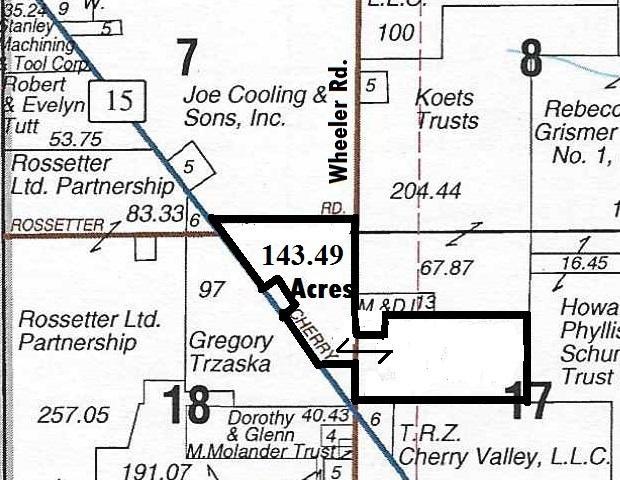 143 Acre Wheeler Road, Cherry Valley, IL 61016 (MLS #10149898) :: HomesForSale123.com