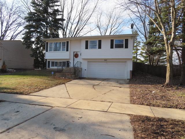 345 Lyons Drive, Bolingbrook, IL 60440 (MLS #10152312) :: The Dena Furlow Team - Keller Williams Realty