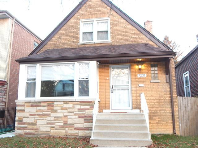 7231 S Campbell Avenue, Chicago, IL 60629 (MLS #10153287) :: The Spaniak Team