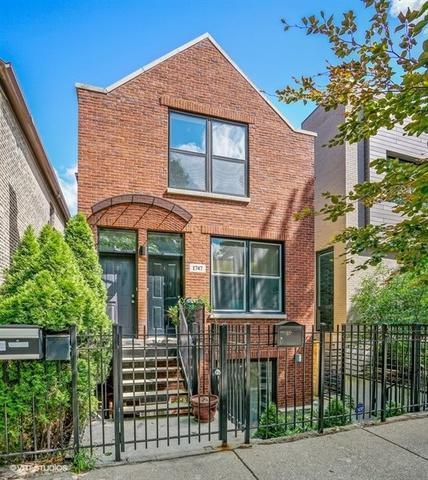 1747 N Wolcott Avenue #2, Chicago, IL 60622 (MLS #10153844) :: The Mattz Mega Group