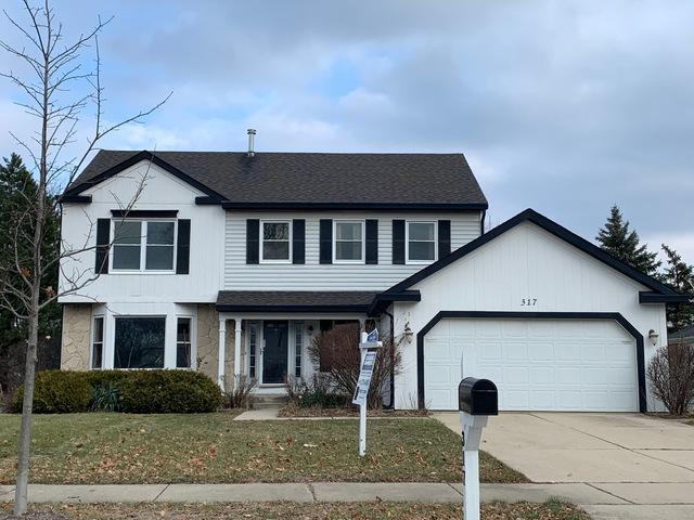 317 Lakeview Drive, Buffalo Grove, IL 60089 (MLS #10154394) :: Helen Oliveri Real Estate