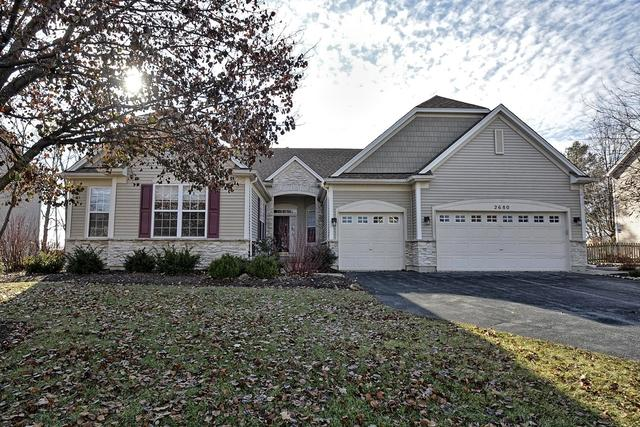 2680 Mcduffee Circle, North Aurora, IL 60542 (MLS #10161901) :: The Wexler Group at Keller Williams Preferred Realty