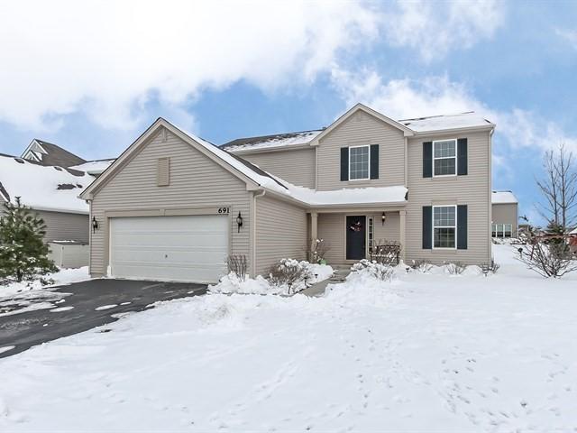 691 Marcello Drive, Hampshire, IL 60140 (MLS #10164743) :: Baz Realty Network   Keller Williams Preferred Realty