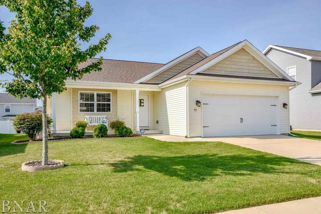 72 Dry Sage Circle, Bloomington, IL 61705 (MLS #10247520) :: Baz Realty Network | Keller Williams Preferred Realty