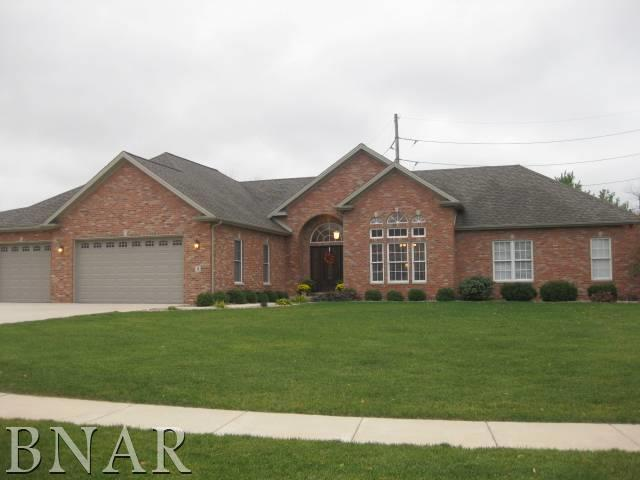 3 Smokey Court, Bloomington, IL 61704 (MLS #10247558) :: Janet Jurich Realty Group