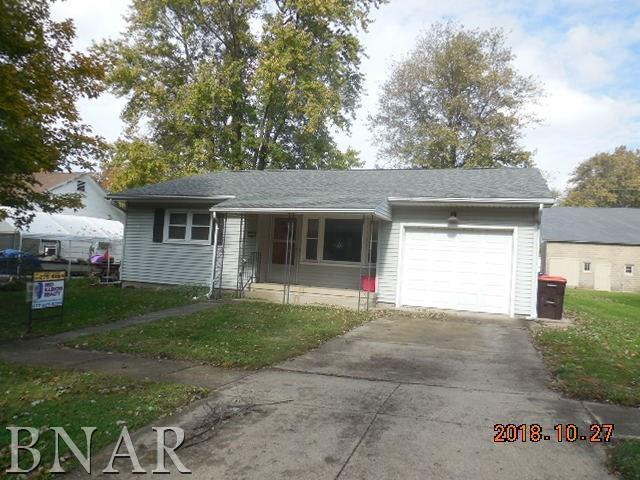208 W Sixth, Gridley, IL 61744 (MLS #10248732) :: Janet Jurich Realty Group