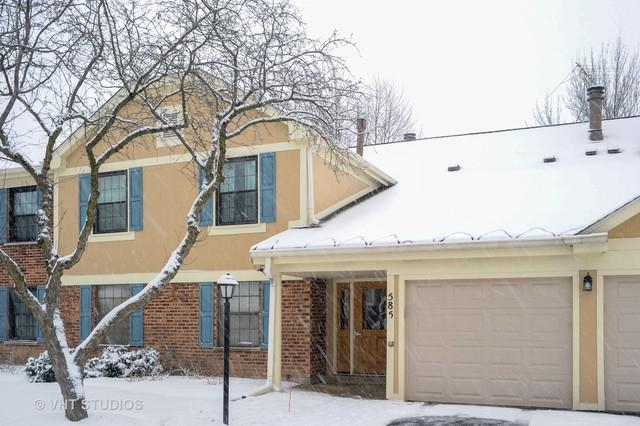 585 Williamsburg Court C2, Wheeling, IL 60090 (MLS #10248836) :: Baz Realty Network | Keller Williams Preferred Realty