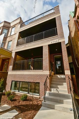 3706 N Damen Avenue #1, Chicago, IL 60618 (MLS #10249931) :: The Wexler Group at Keller Williams Preferred Realty